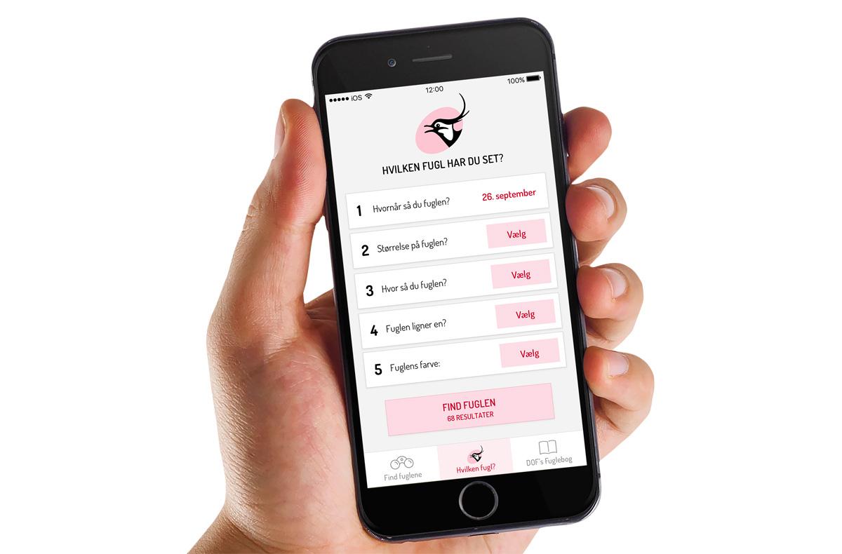 db6028f79b6 Ny gratis app: Find fuglen på din mobil - Dansk Ornitologisk Forening